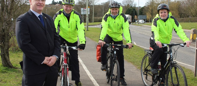Drivers and cyclists urged to look out for each other