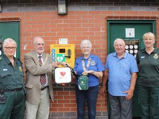 New Defibrillators installed across Congleton