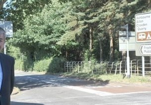 Traffic lights for Freehay crossroads