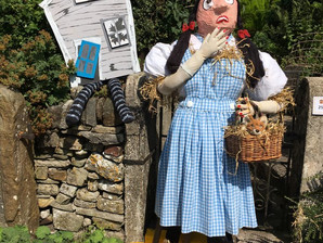 Pictures: Butterton Wakes and Scarecrow festival