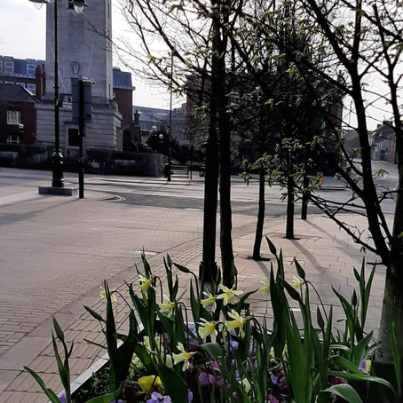 Leek town council pay tribute to the Prince Phillip