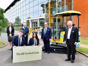 Former JCB engineer's multi million fortune sees huge bequest made to school