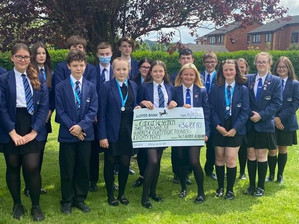 Cheadle academy raise over £3,600 for cancer research