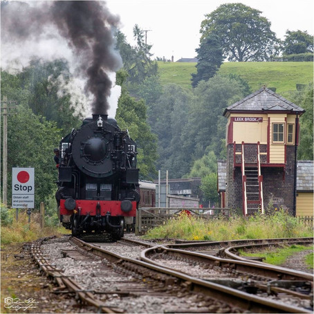 Churnet Valley Railway partner with Crewe rail firm for Leek extension