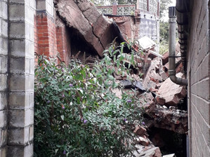 Council supporting business to re-open after Cheadle land slip