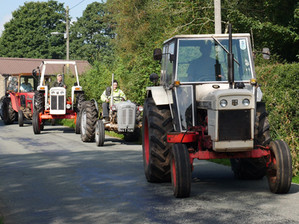 Picture: Meerbrook flower festival and tractor meet