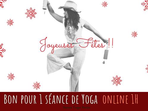 Cours de YOga en ligne 1H