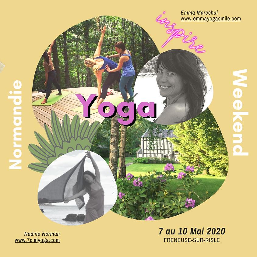 YOga de Printemps Normandie 7 au 10 Mai 2020