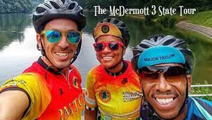 McDermott 3 State Ride: Let's Support Major Taylor Pittsburgh