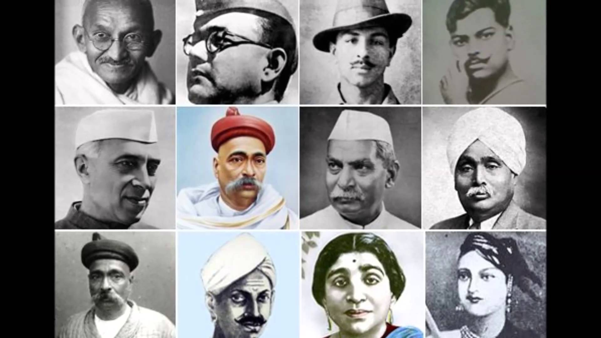 Freedom fighters of india.