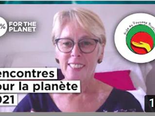 Levée de fonds aux Rencontres pour la Planète avec le collectif 1% for the Planet