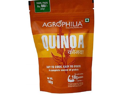 Agrophilia White Quinoa 100g (Pack of 4)