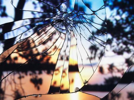 Broken Mirror | Evening Sky: fotografias de Bing Wright