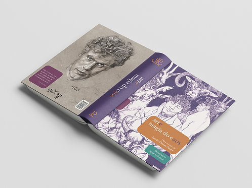 Kit Arte e Magia do Caos: Livro + Cartas Surrealistas para Previsão de Corridas
