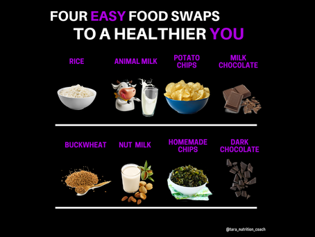 4 Food Swaps For A Healthier You