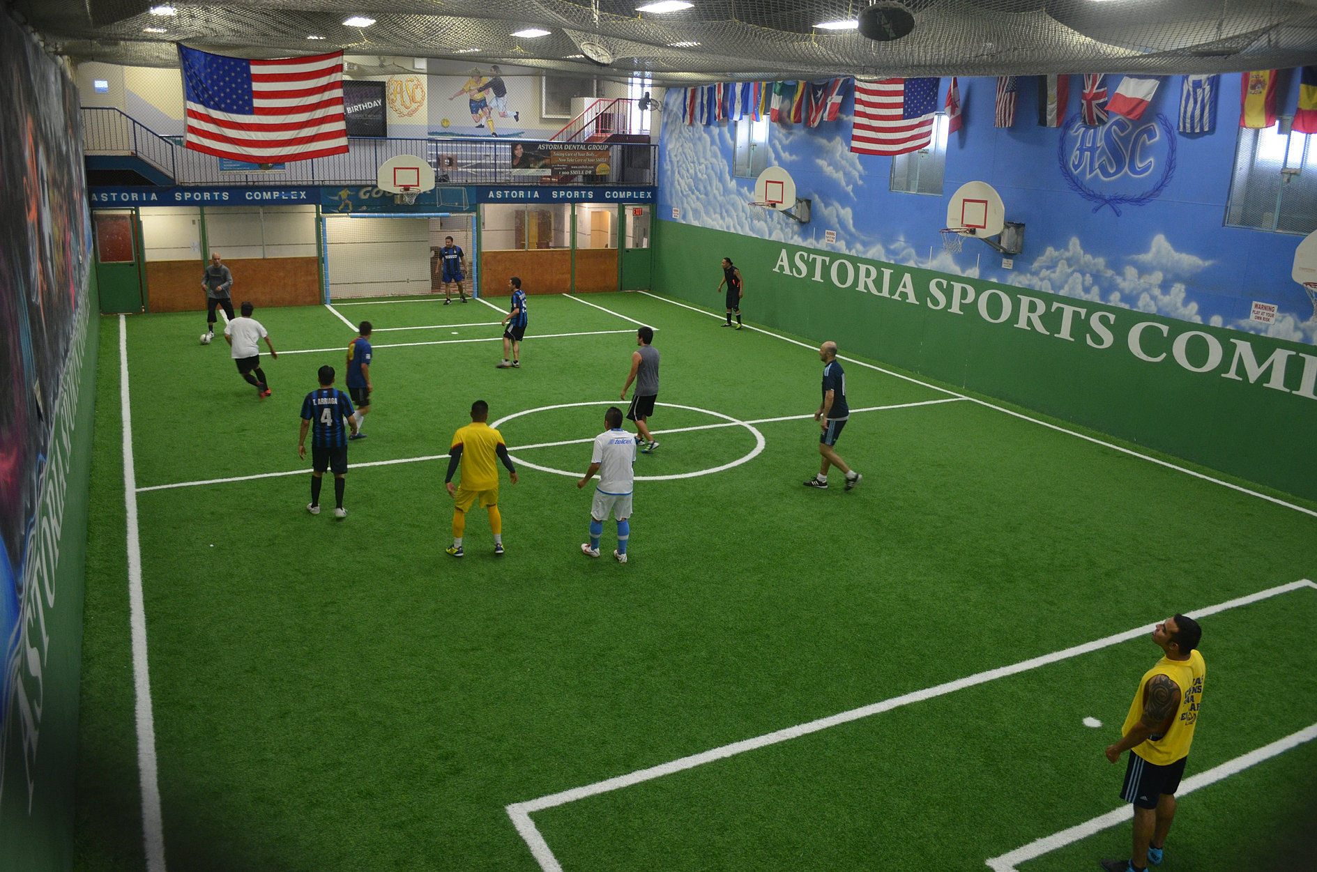 The Complex Nyc Indoor Soccer Field A