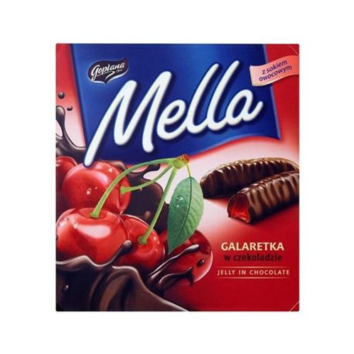 Mella Dark Chocolate coated Cherry Jelly 6.7oz/190g