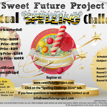 Sweet Future Project | Virtual Spelling Challenge | Practice Words10/25/2020