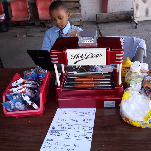 Young Entrepreneur in the Making