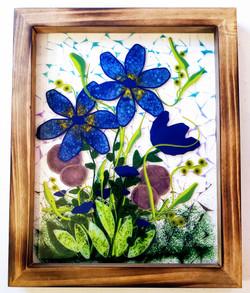 Deep Cobalt Garden