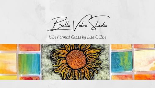 Bello Vetro Studio Logo Business Card Ba