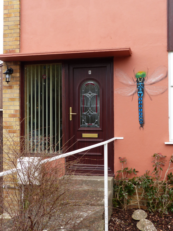 A. B&B front door