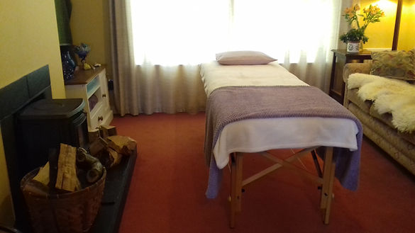 Holistic Therapies Room for relaxation