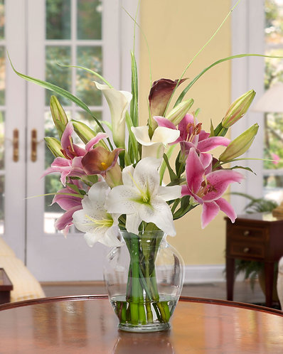 Spring and Lillies