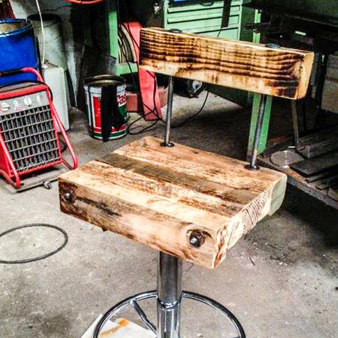 Barhocker Holz