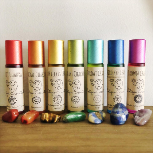 Chakra Roller Blends (Individual or Set)