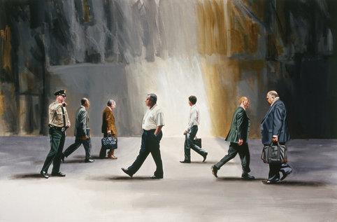 Corporate Art: Corporate Men