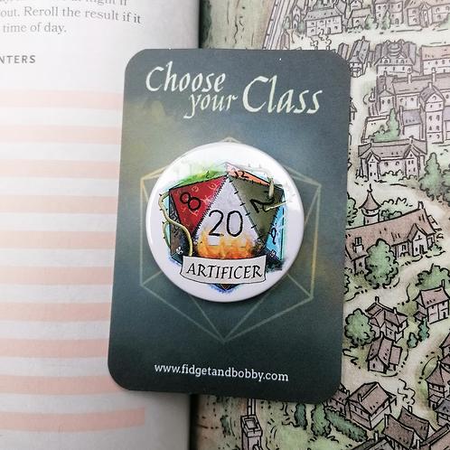 Articifer DnD  Button Badge
