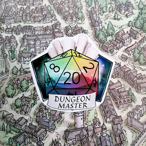 Dungeon Master Sticker DnD