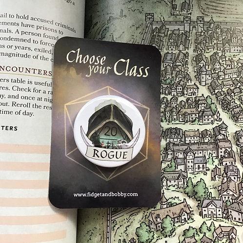 Rogue DnD  Button Badge
