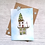 Thumbnail: Winter House Greetings Card
