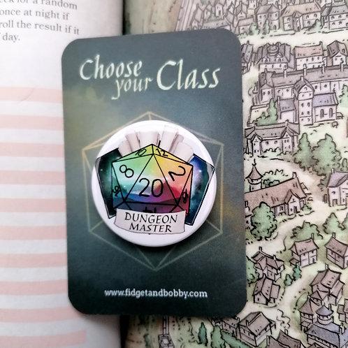 Dungeon Master DnD  Button Badge