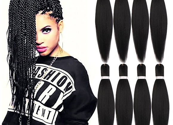 Pre-Stretched Braiding Hair Easy Braid Synthetic Hair