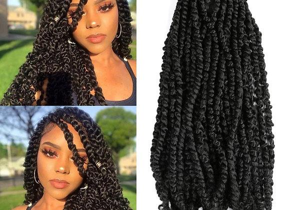 Synthetic Crochet Braiding Hair Passion Twist