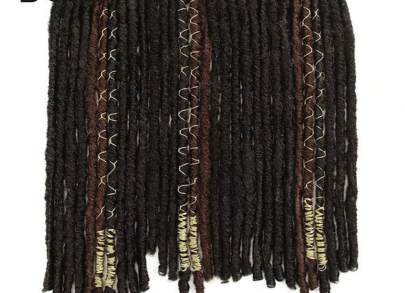 BELLA 20 inch Dreadlocks Crochet Braids with 10 Stands/Pack Gold