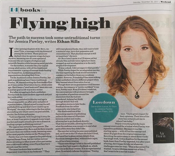 J L Pawley article in NZHerald