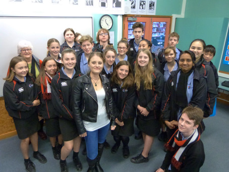 Howick College welcomes J L Pawley