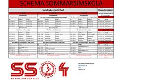 Info om sommarsimskolan