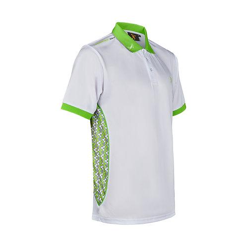 Contour Polo - White/Lime