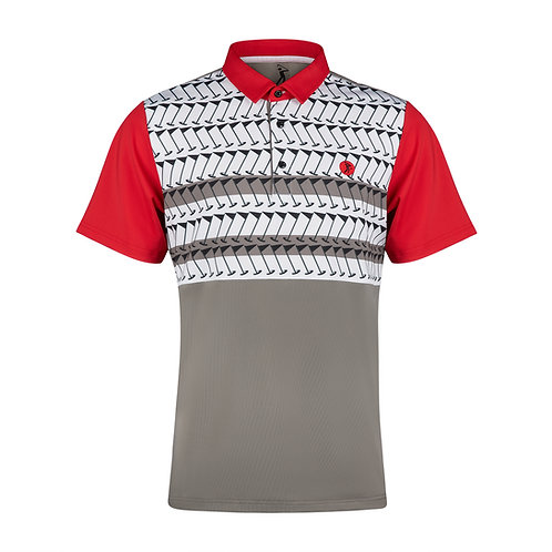 PIN HIGH POLO - Red