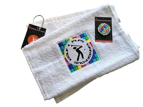 Dance Mat Towel/Poker Chip Marker