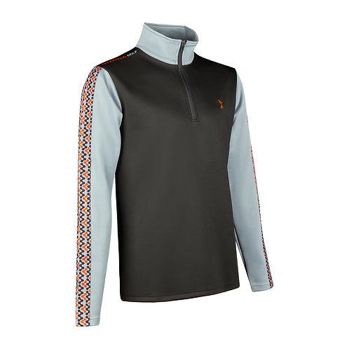 Contour 1/4 Zip Pullover - Black