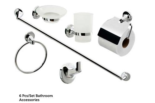 6Pcs/Set Bathroom Accessories Pack