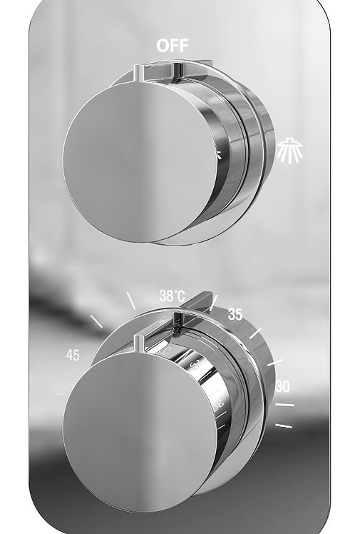 Modern Concealed Thermostatic shower Valve