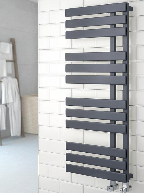Designer  Flat profile Towel Radiator - Oregon