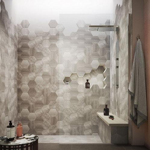 Hudson Reed Chrome Wet Room Design 8mm Single Wet Glass Panel 1950mm High
